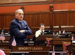 House Minority Leader Lawrence Cafero